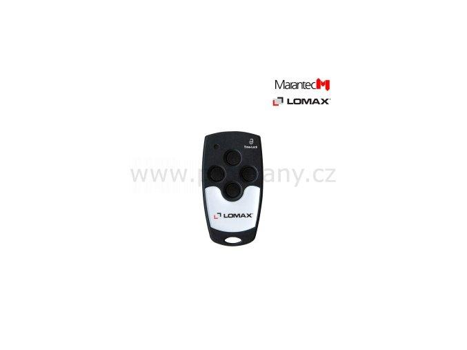 MARANTEC MINI 304 LOMAX, 4-kanálový dálkový ovladač, 433Mhz
