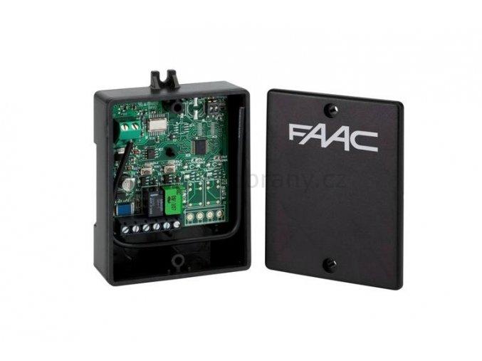 FAAC XR2 externí přijímač dvoukanálový, 868Mhz