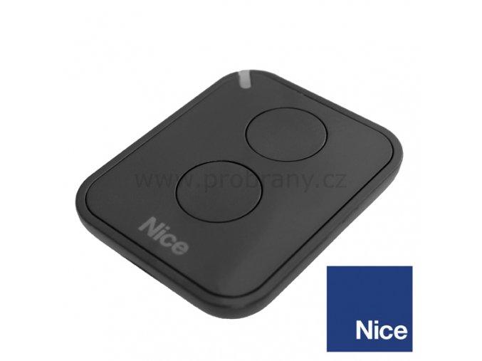 NICE FLO2 RE dálková ovladač dvoukanálový, 433,92Mhz