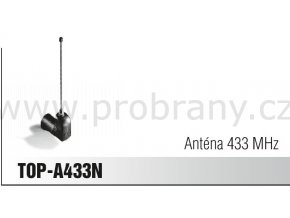 CAME TOP A433N anténa, frekvence 433Mhz