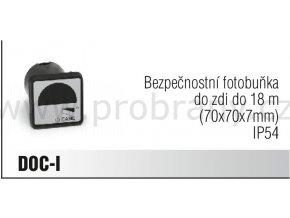 CAME DOC-I bezpečnostní fotobuňka do zeď do 18m, IP54