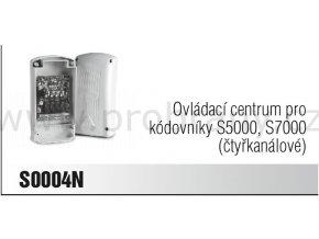 CAME S0004N čtyřkanálové ovládací centrum pro kódovníky S5000 a S7000