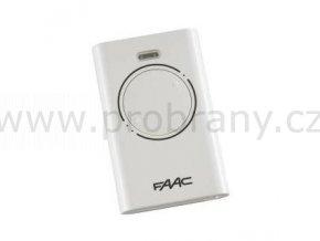 FAAC XT2 dvoukanálový dálkový ovladač bílý, 868 Mhz