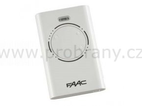FAAC XT4 čtyřkanálový dálkový ovladač bílý, 868 Mhz