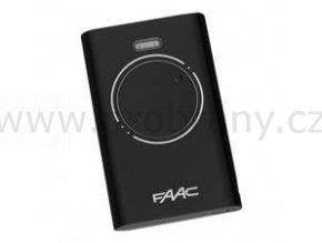 FAAC XT2 dvoukanálový dálkový ovladač černý, 868 Mhz