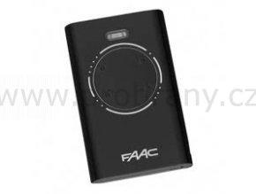 FAAC XT4 čtyřkanálový dálkový ovladač černý, 868 Mhz