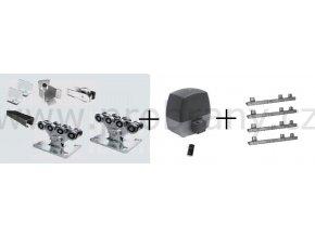 Hörmann Lineamatic P kompletní sestava pro posuvnou bránu do 4,5m průjezdu s černým profilem STAGE SB, pohon