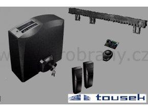 TOUSEK PULL T5-SET pohon pro posuvnou bránu do 500kg, fotobuňky. dálkový ovladač, 4m hřebene V/6