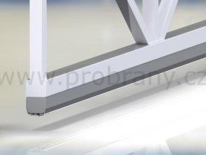 CAIS STAGE MZ vodící profil 95x86mm, povrchová úprava zinek