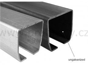 CAIS STAGE LZ vodící profil 138x144mm, povrchová úprava zinek