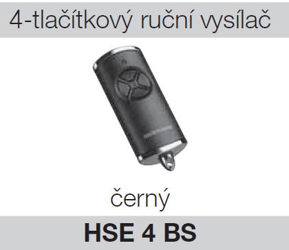 Hörmann HSE 4 BS černý chrom
