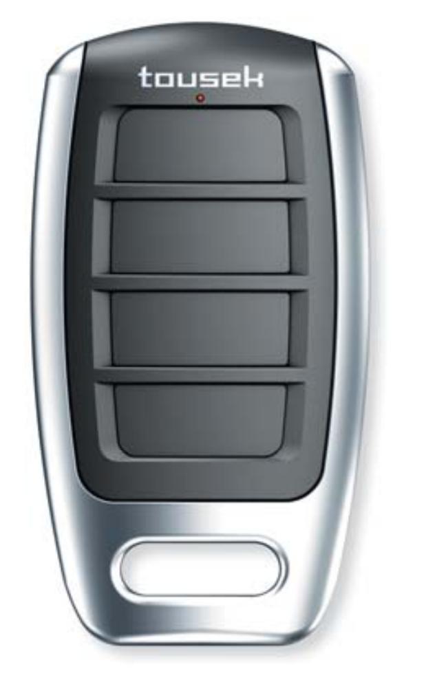 TOUSEK RS-868-4M dálkový ovladač čtyřkanálový