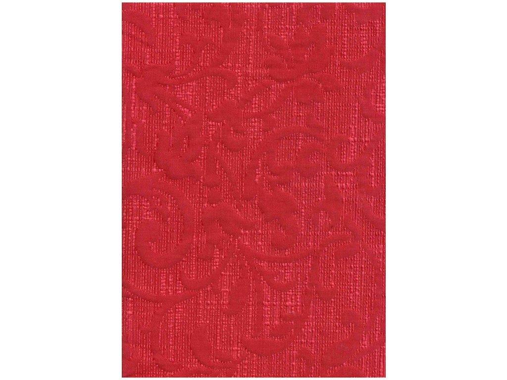 DEKORAČNÍ LÁTKA Spoleto š.280 červená