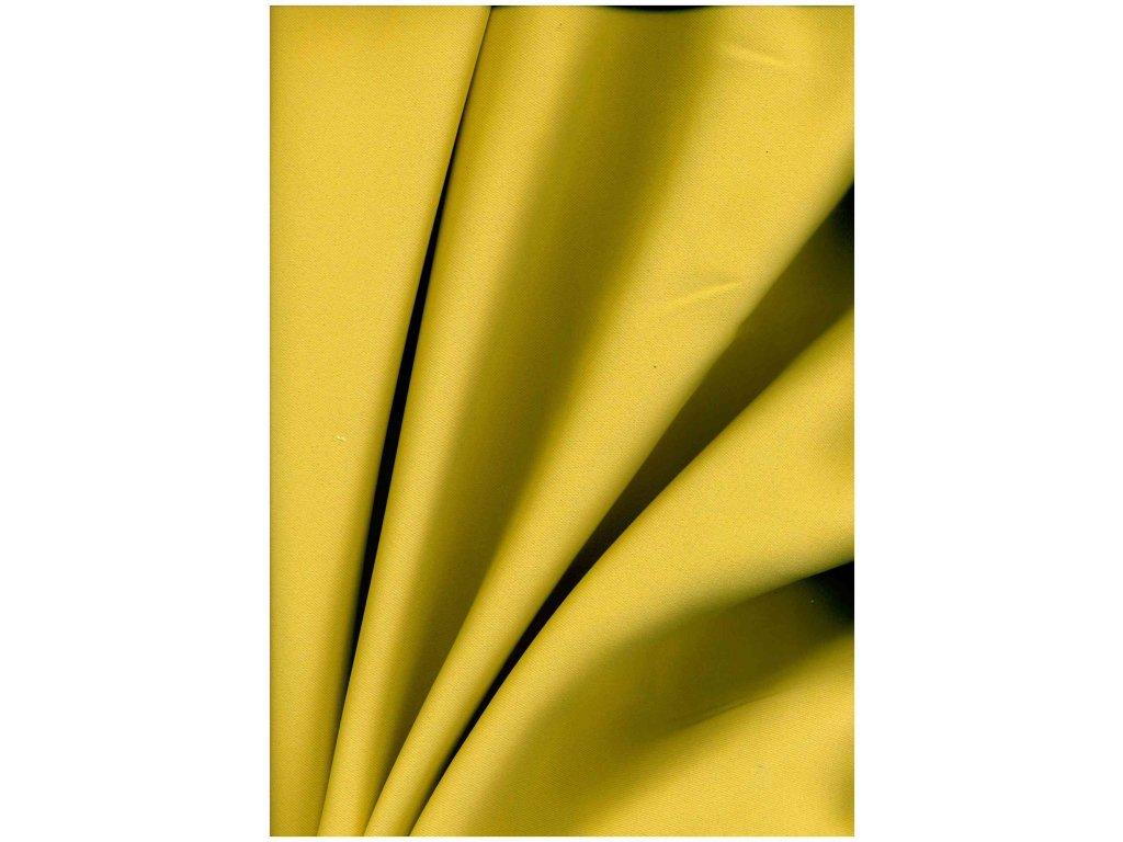 DEKORAČNÍ LÁTKA BLACK OUT 322026 šíře 150 žlutá G6