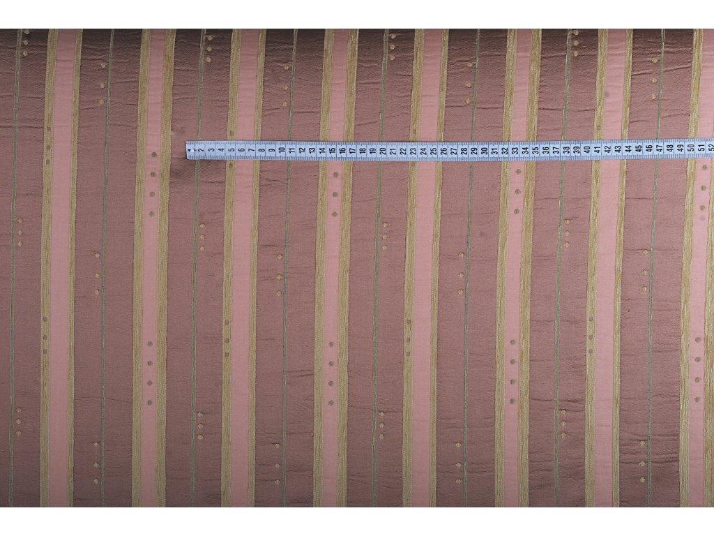 DEKORAČNÍ LÁTKA ELITE šíře 280 G.03 col.04 starorůžová