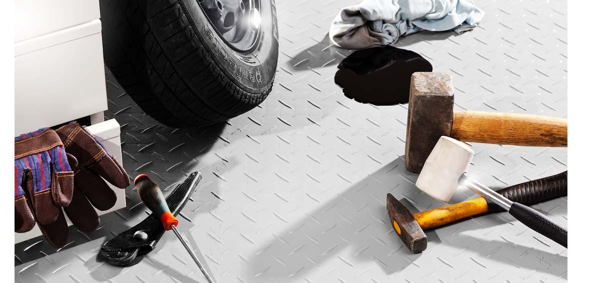 Jak vylepšit podlahu v dílně