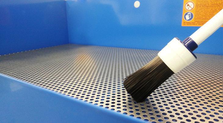 Mycí stoly a kapaliny v akci