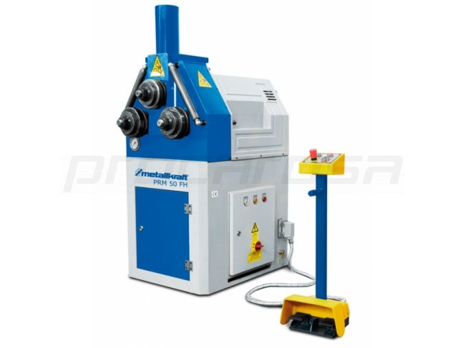 Hydraulická zakružovačka profilů a trubek PRM 50 FH