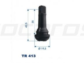 Bezdušové ventilky TR413
