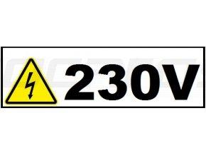 Změna napájení na 230 V - pro zvedáky