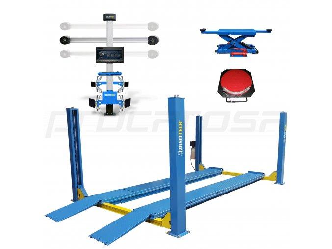 SET 5 PROFI - 3D geometria + štvorstĺpový zdvihák za zvýhodnenú cenu