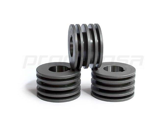Kladky na pásovú oceľ 5/8 mm na výšku (max. 50 mm)
