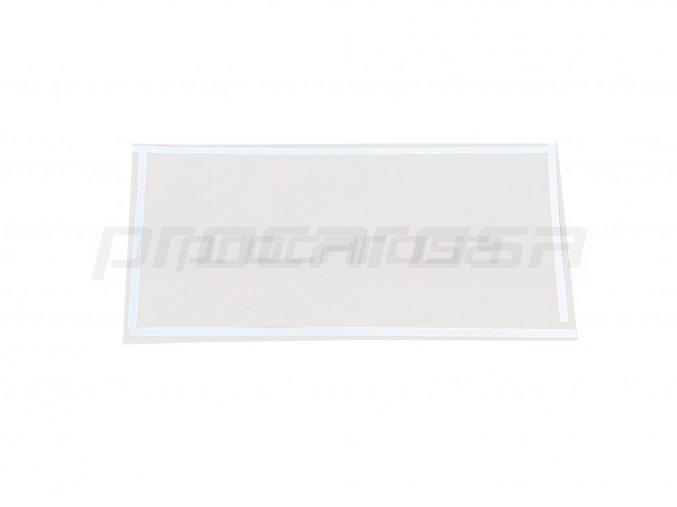 Ochranná fólia priezoru pre pieskovací box Procarosa PROFI220-I