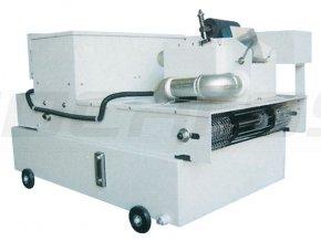 Automatický papierový filtračný pás s magnetickým separátorom a chladením