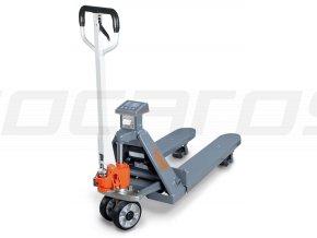 Paletový vozík s váhou a tlačiarňou PHW 2000 WP