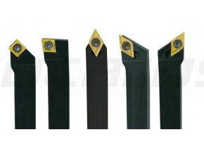Sada sústružníckych nožov HM 16 mm - 5 ks