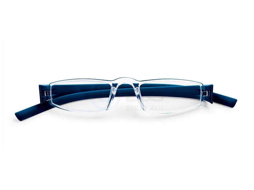 Plastové brýle na čtení 794 tmavě modrá