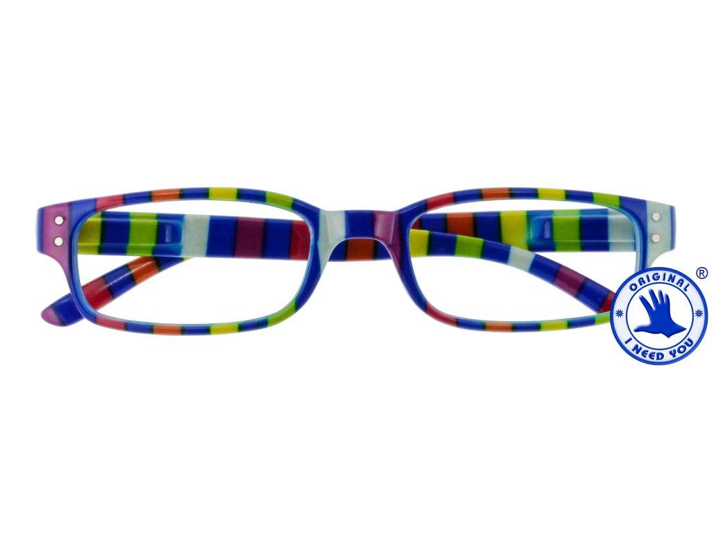 CHAOT modrá brýle na čtení