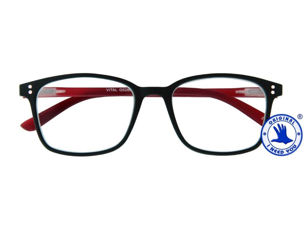 VITAL G62800 black red front