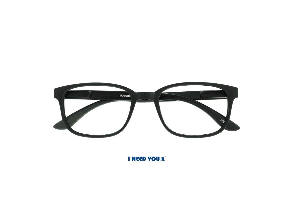 RAINBOW brýle na čtení černá