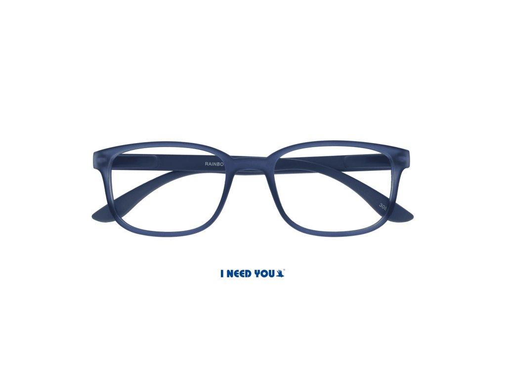 RAINBOW brýle na čtení modrá