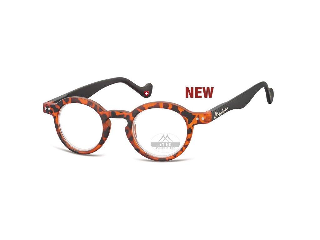 MR69A  brýle na čtení želvovina hnědá