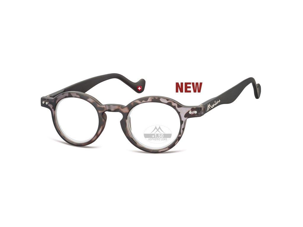 MR69B  brýle na čtení želvovina šedá