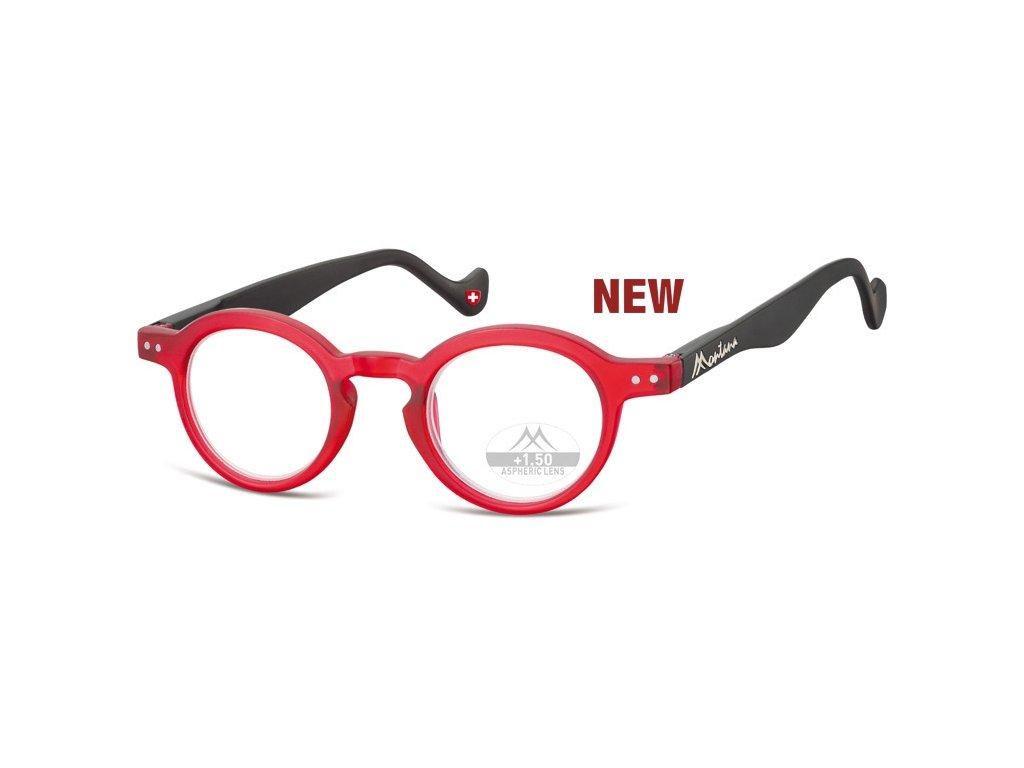 MR69D  brýle na čtení červená