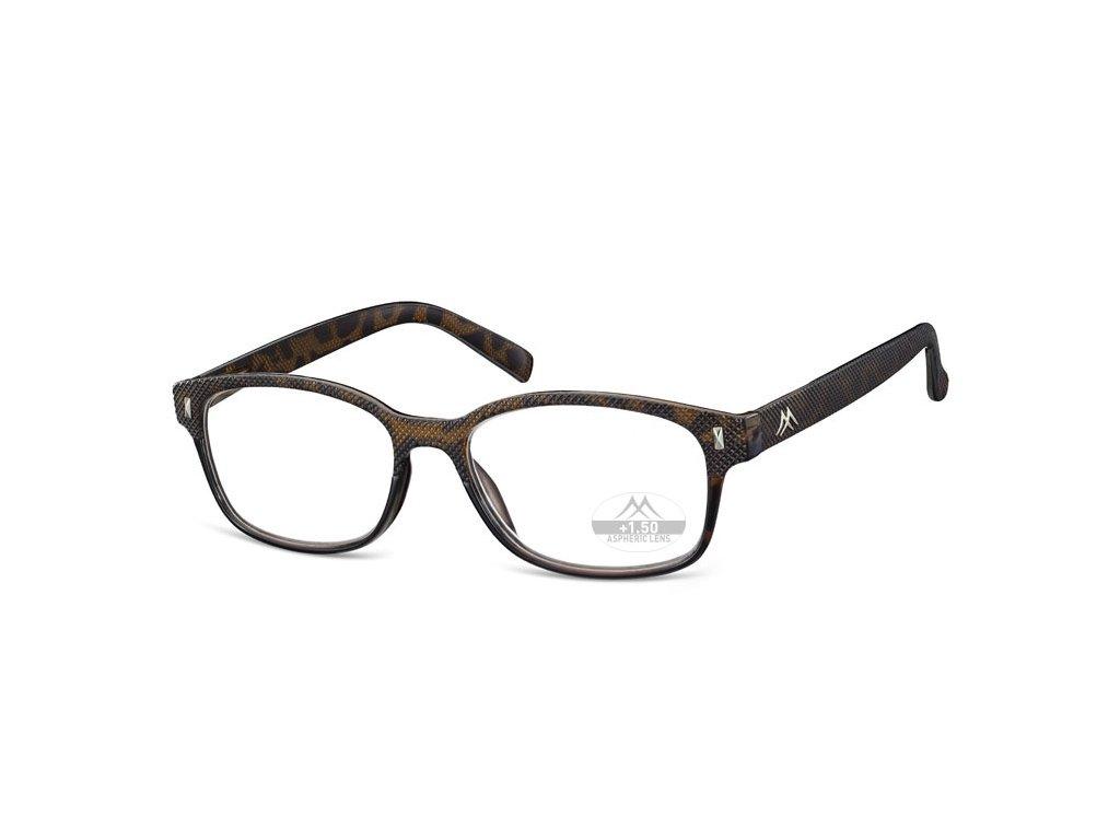 MR88 plastové brýle na čtení černá