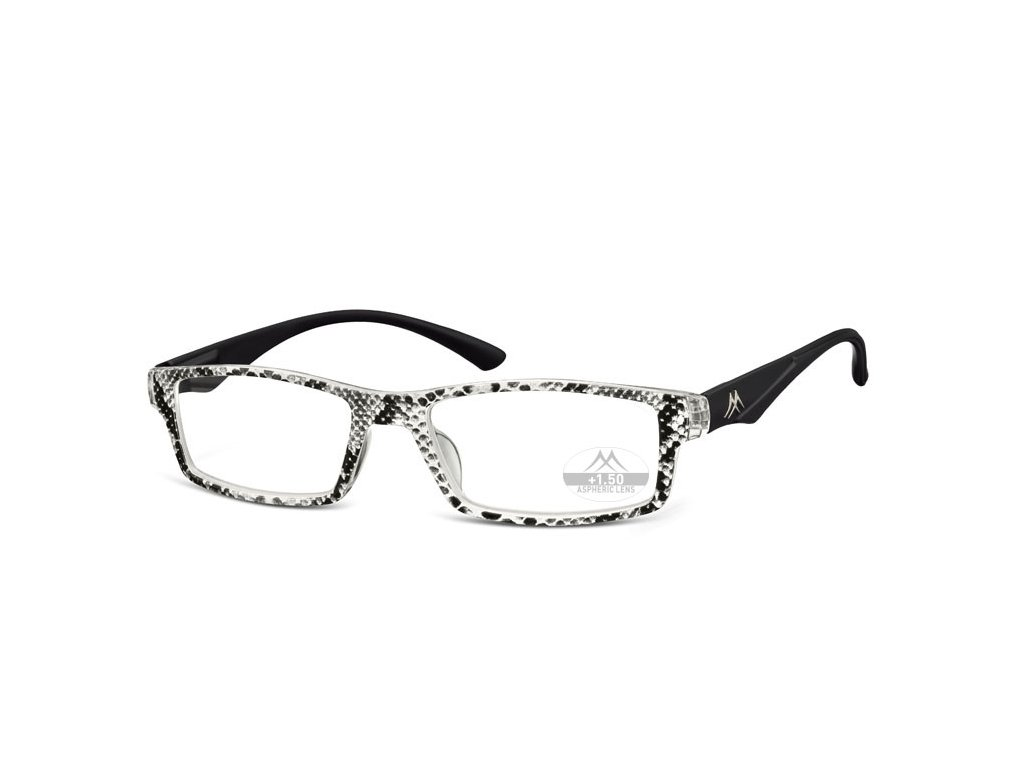 MR94 dámské brýle na čtení černobílá