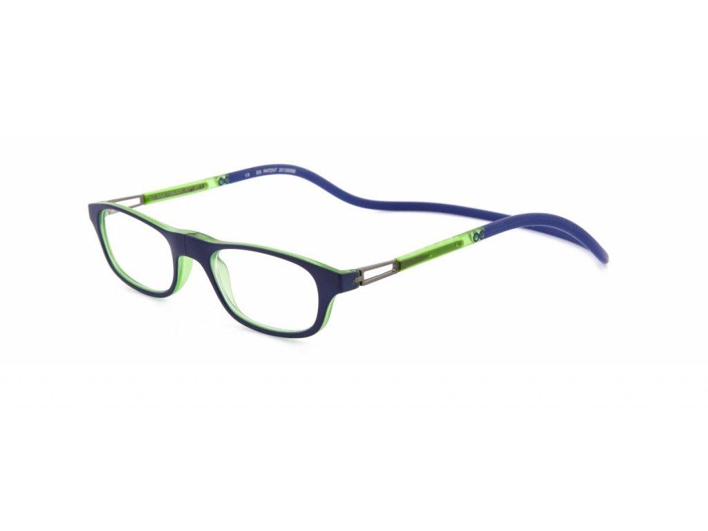SLASTIK LEIA 012 modrozelená   Blue Green