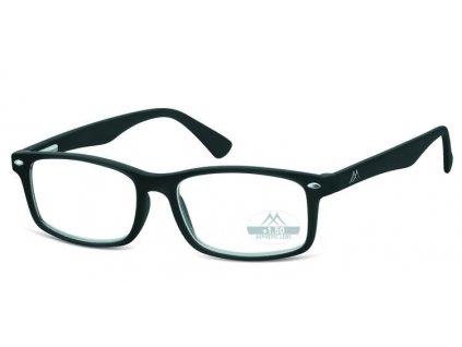 brýle na čtení MR83 černá, plastové čtecí brýle