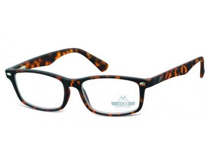 mr83a brýle na čtení hnědé žíhané
