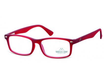 mr83b brýle na čtení červené