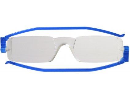 COMPACT 1 skládací brýle na čtení modré