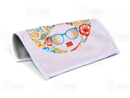 LETNÍ DÍVKA - utěrka na brýle z mikrovlákna 18x15 cm