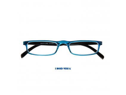 HALF-LINE brýle na čtení modrá