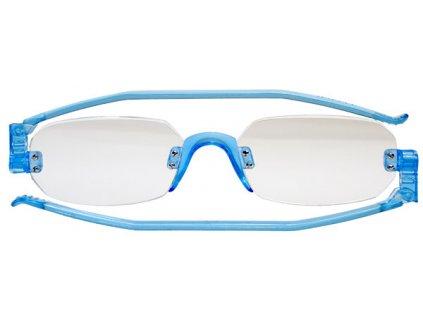 NEWFOLD 507 skládací brýle na čtení modrá