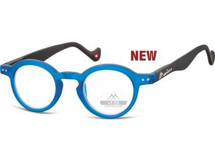MR69C  brýle na čtení modrá