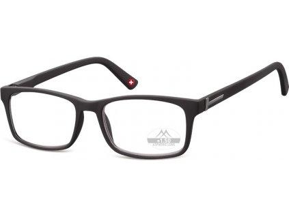 MR73 brýle na čtení černá
